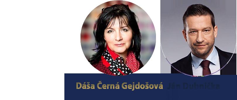 Dáša Černá a Ján Dubnička